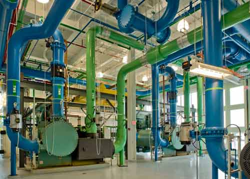 Chiller Plant illustrates what is Test and Balance